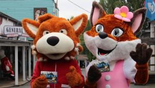 Fort Fun Abenteuerland Maskottchen