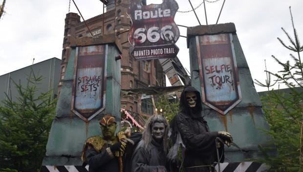 Grusellabyrinth NRW Halloween 2019 Route 666