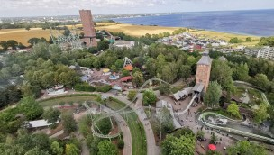 Hansa Park Luftaufnahme 2019