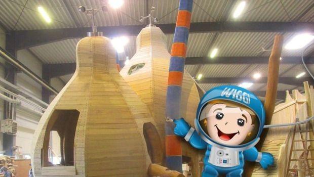 Inselsberg-Funpark neuer Weltraumspielplatz Produktion