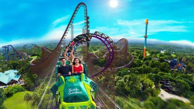 Iron Gwazi Busch Gardens Tampa Bay 2020 Hybrid Coaster Artwork