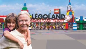 """LEGOLAND Deutschland: Freier Eintritt für Oma und Opa am """"Großelterntag"""" 2019"""