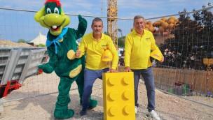 Baustart für LEGOLAND-Wasserpark im Gardaland: Erster Baustein gelegt!