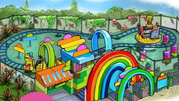 LEGOLAND Windsor LEGO Duplo Coaster 2020 Artwork