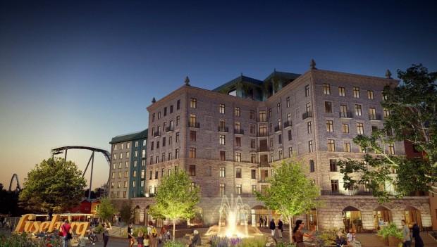 Liseberg Hotel 2023 außen Rendering