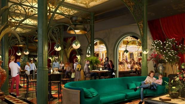 Liseberg Hotel 2023 Restaurant Rendering