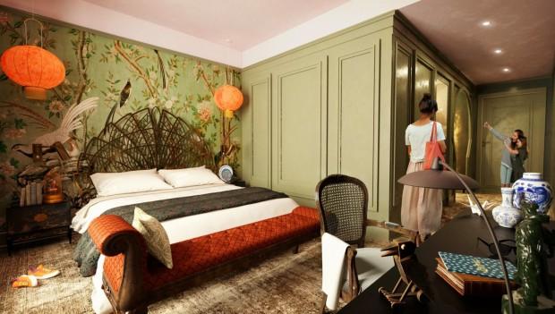 Liseberg Hotel 2023 Room Rendering