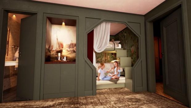 Liseberg Hotel 2023 Zimmer Rendering