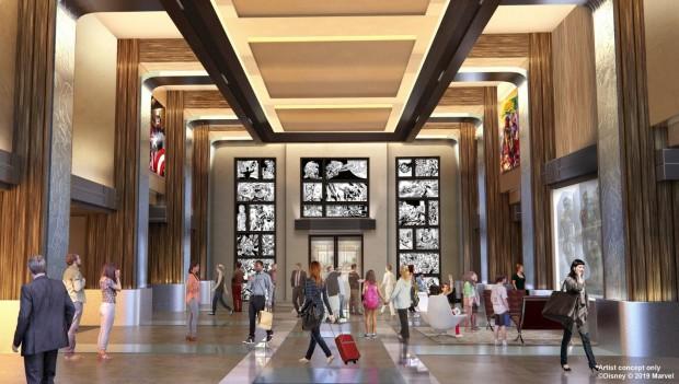 marvel-hotel-disneyland-paris-artwork-lobby