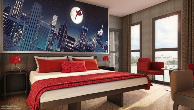 marvel-hotel-disneyland-paris-artwork-zimmer-spider-man-2