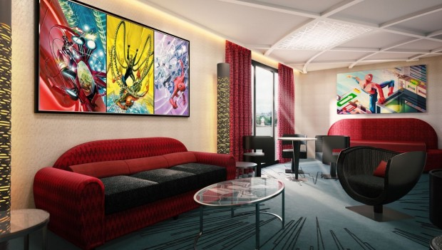 marvel-hotel-disneyland-paris-artwork-zimmer-spiderman