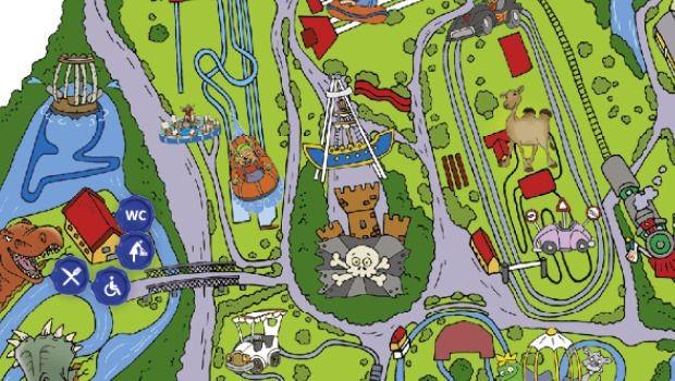 Rasti-Land Parkplan Standort für neuen Spielplatz 2020