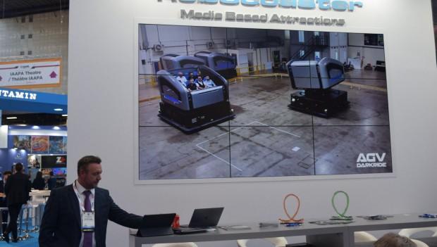 Simworx Automated Guided Vehicle (AGV) Konzept