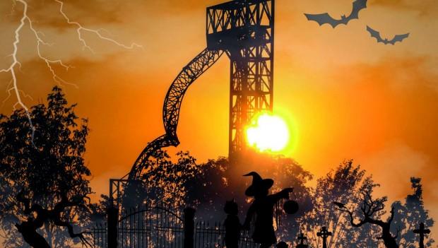 Skyline Park Halloween 2019 Silhouette