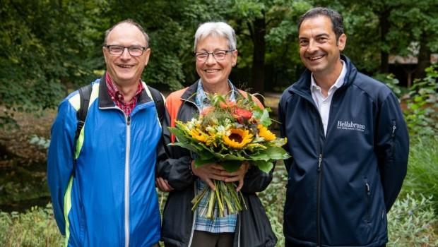 Tierpark Hellabrunn millionste Besucherin 2019