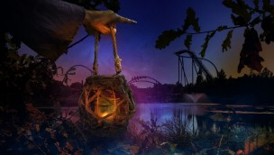 Toverland Halloween Witches Forest halloween Wald