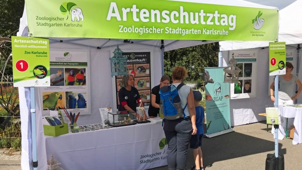 Zoo karlsruhe Artenschutztag