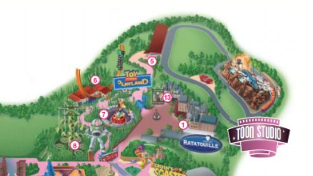 Disneyland Paris Cars Route 66