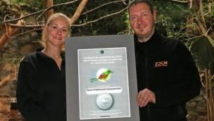 EAZA Auszeichnung Silent Forest Zoom Erlebniswelt