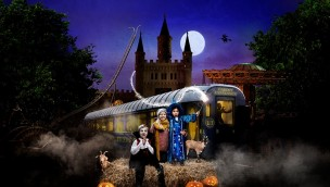 Artwork von Furuvik Horror-Express