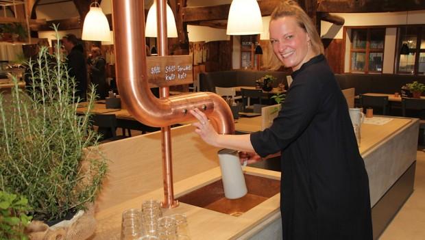 Hoflokal Hannover Wasser zapfen