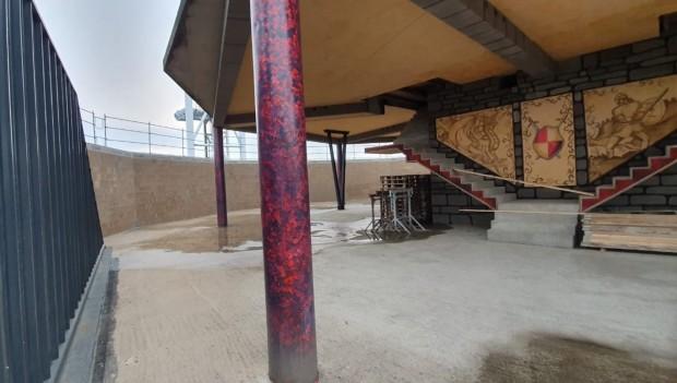 Klotten Freizeitpark 2020 Neuheit Baustelle Einblick