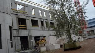 Plopsaland De Panne neues Hotel Baustelle (höchster Punkt)