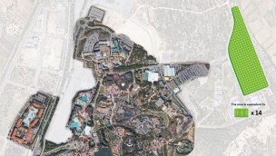PortAventura Solar Park Illustration
