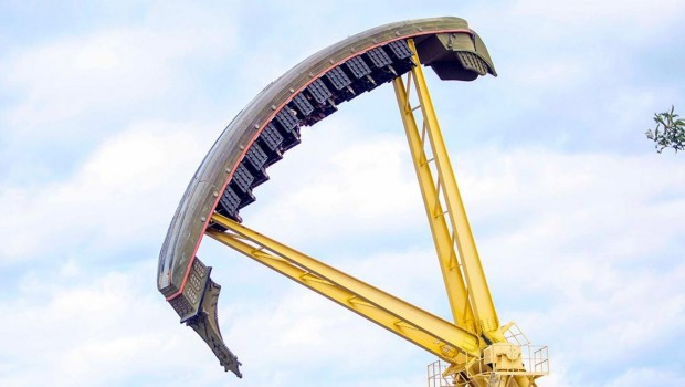 Valleyfair Looping Starship