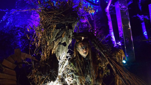Walibi Holland Halloween Fright Nights 2019 Tangled Twigs