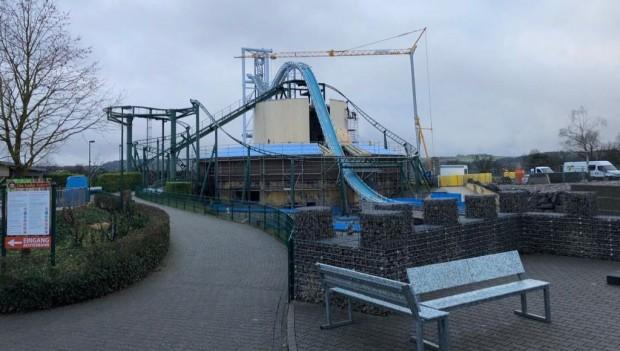 Wild- und Freizeitpark Klotten Kuniberts Abenteuer neu 2020 Baustelle