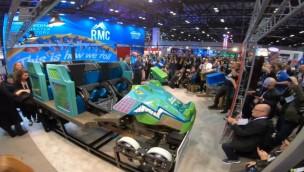 Busch Gardens Tampa Bay Iron Gwazi Zug IAAPA Expo 2019