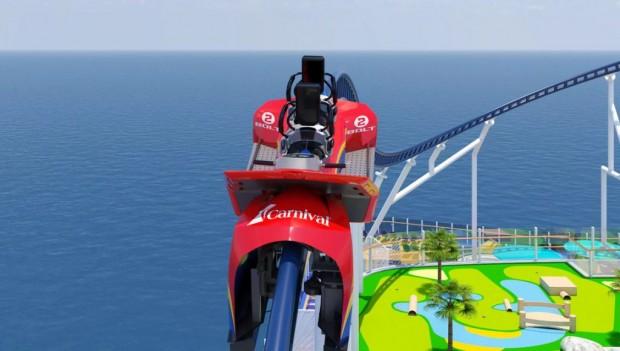 IAAPA Expo 2019 Carnival Cruise Lines Bolt Zugenthüllung (Mardi Gras)