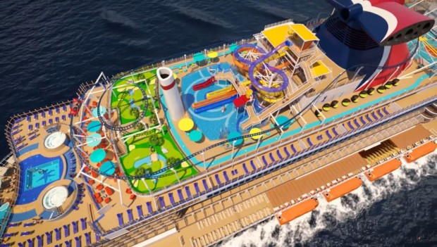 Carnival Cruise Lines Mardi Gras Ultimate Playground mit Bolt