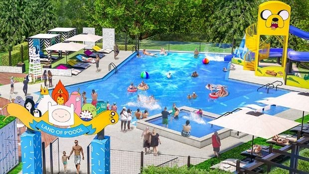Cartoon-Network-Hotel-Saison2020-Eröffnung-Pool