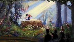 Disneyland Anaheim Snow White's Scary Adventures Erneuerung 2020 Artwork