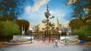 Disneyland Park Tomorrowland Eingangsbereich 2020