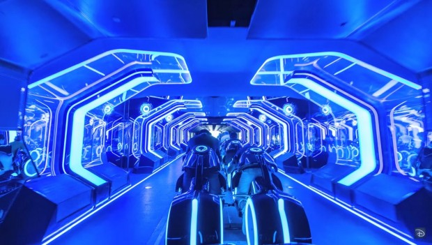 Disneyland Shanghai Tron Lightcycle Power Run