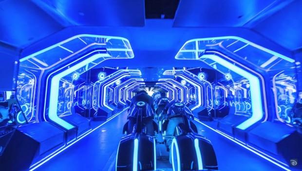 Disneyland Shanghai Tron Lightcycle Power Run