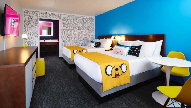 Dutch Wonderland Cartoon Network Hotel Artwork