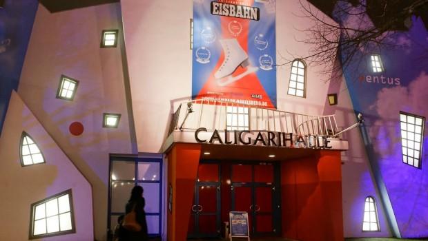 Eisbahn Filmpark Babelsberg Eishalle