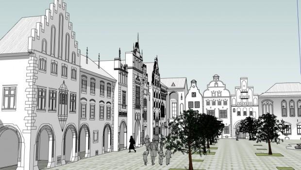 Hansa-Park Hanse in Europa Artwork (achter Abschnitt)