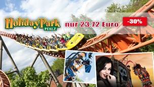 Holiday Park-Eintrittskarten mit 12 Euro Rabatt sichern: günstige 23,72 Euro mit Gutschein