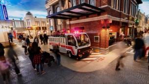 KidZania Frisco Stadt mit Feuerwehr