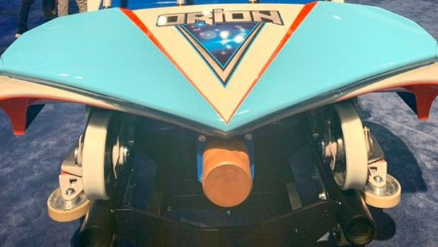 Kings Island Orion neu 2020 Zugenthüllung IAAPA Expo 2019