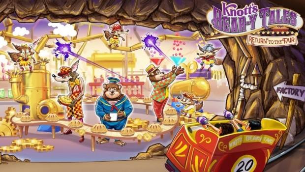 Knotts Bear-y Tales 2020 Artwork