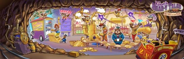 Knotts Bear y Tales 2020 Full Size Artwork