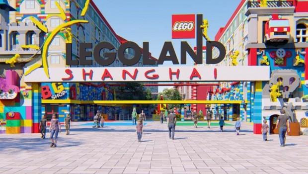 LEGOLAND Shanghai Eingang Artwork