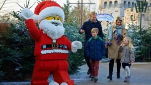 Legoland Windsor Wintersaison  2019/20 Weihnachtsmann Figur