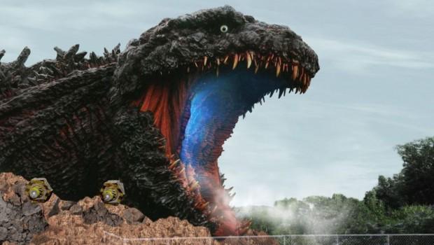 Nijigen no Mori Godzilla-Themenbereich 2020